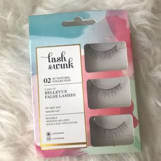 jual bulu mata palsu / false eyelash lashnwink no 02 bluemoon
