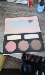BH cosmetics face palette