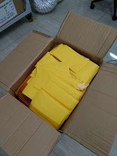 650個 牛皮紙 氣泡信封 bubble mailer 17 cm x 13 cm 自貼封口