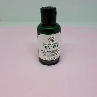 The body shop ori tea tree cleansing