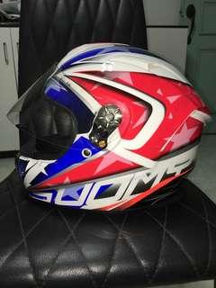 Suomy fullface helmet