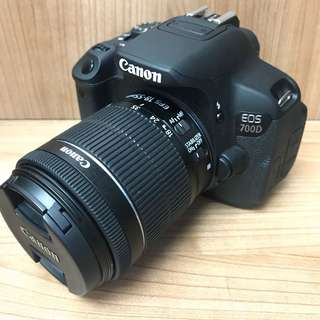Canon 700D + 18-55mm IS STM