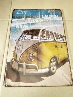 Volkswagen vintage collectable tin