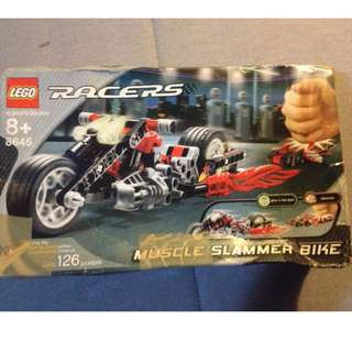 LEGO RACERS MUSCLE SLAMMER BIKE