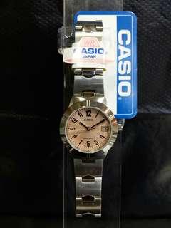 "LTP-1241D-4A3卡西歐品牌手錶""Casio""日本機芯一年保養"