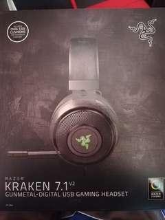 RUSH!! Razer Kraken 7.1 V2 USB GAMING HEADSET