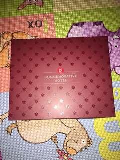 SG50 Commemorative Folder 5X