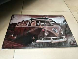 Volkswagen collectable vintage tin