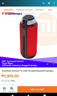 Original tronsmart Bluetooth speaker