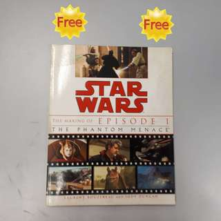 FREE !!! (Zero Cost) :  Star Wars: The Making of Episode I The Phantom Menace