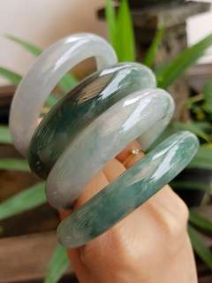 All NEW Jadeite Jade Bangles Grade A