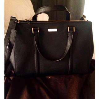 Kate Spade Black Saffiano Bag