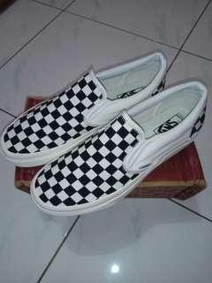 VANS OG slip on checkerboard