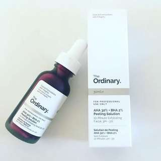 (SHARE 5ML) THE ORDINARY AHA30% BHA2% PEELING SOLUTION