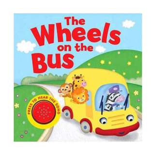 Buku Anak THE WHEELS ON THE BUS MELODY SOUND BOARD BOOK