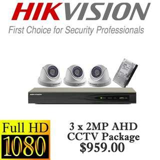 CCTVSG.NET HIKvision 1080P AHD CCTV Package 3