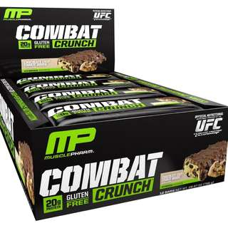 Sports Nutrition MusclePharm Combat Crunch Protein Bar Chocolate Chip Cookie Dough(12 Bars)蛋白質棒 營養棒 能量棒 蛋白棒