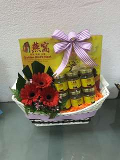 Bird nest hamper with free delivery