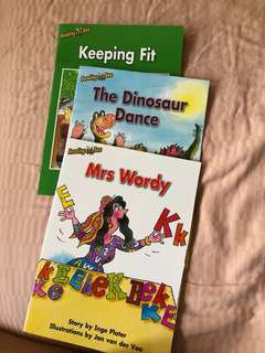 Reading bee k2 English books