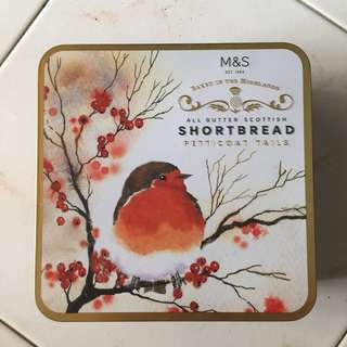 M&S Shortbread iron Box (Scotland)