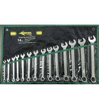 Aeroforce 14pcs Combination Wrench Set