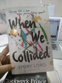 [WTS] When We Collided Novel
