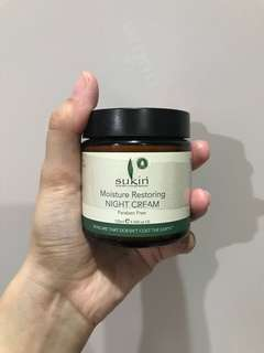 PRELOVED SUKIN NIGHT CREAM
