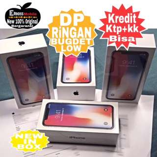 Bisa Nyicil Dp 5jt Iphone X 64Gb New Original Apple ditoko ktp+kk wa;081905288895