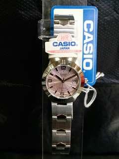 "LTP-1241D-4A卡西歐品牌手錶""Casio""日本機芯一年保養"