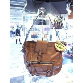 Chloe Brown Leather Shoulder Handbag Hand Bag 克洛伊 啡色 牛皮 皮革 手挽袋 手袋 肩袋 袋