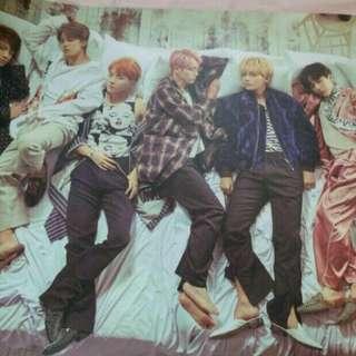 放BTS WINGS 海報專輯