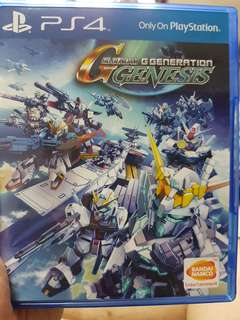 Ps4 sd gundam g generation genesis