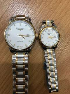 Longines Couple watch