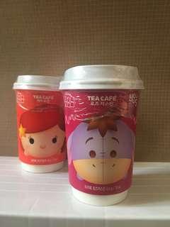 韓國GS25限定迪士尼tsum tsum茶杯