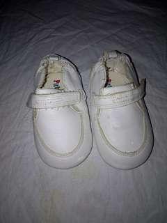 Pitter Pat baptismal shoes