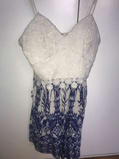 Laced Playsuit