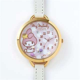 Sanrio melody watch authentic new