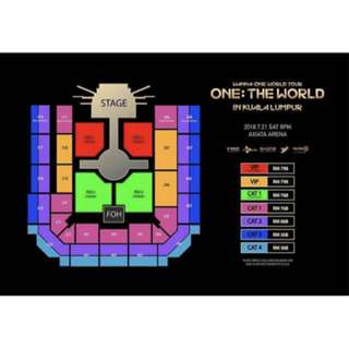 Wanna One World Tour In KL