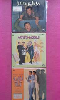 Jerry Lewis and Dean Martin Laser Disc LD