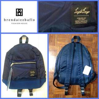 Legato Largo Satin Back Pack Blue