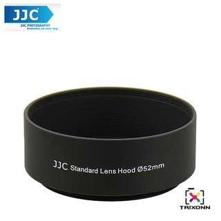 JJC LN-52s 52mm Metal Lens Hood Shade for Camera Lens (Universal Filter )