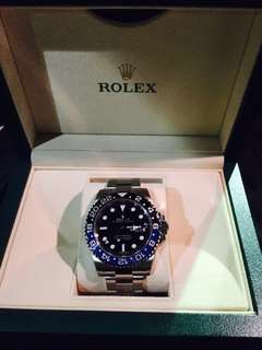 Rolex GMT Master2 (batman)