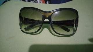 Prada oversized sunglasses in dark green
