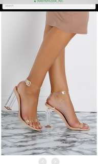 Brand New Clear Heels
