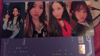WTT/WTS GFRIEND Time For The Moon Night Photocard