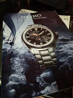 Seiko Catalog from Japan