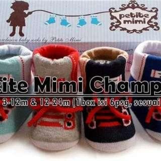 Kaos Kaki Bayi PETITE MIMI BOY SOCKS 0-12M
