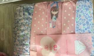 Mothercare Girl's Panty set of 5