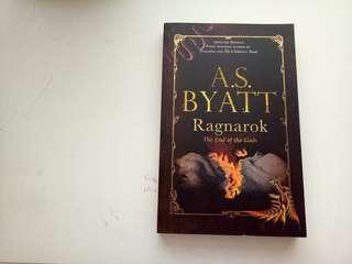 A,S Byatt Ragnarok book