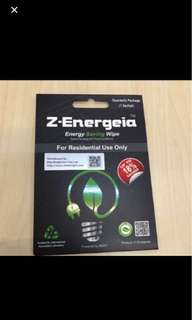 BN Z-Energeia - energy saving wipe
